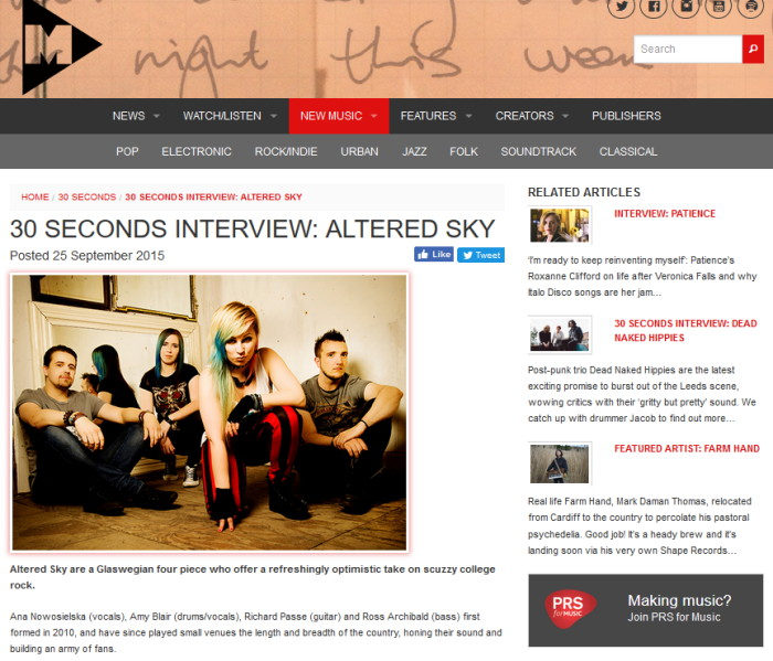 altered sky interview m magazine